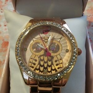 Betsey Johnson Luv Betsey Owl Watch